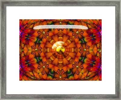 Framed Print featuring the digital art Seasons by Robert Orinski