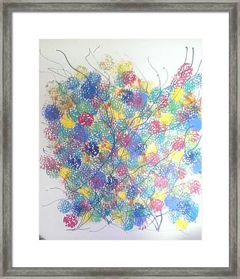 Seasponge Framed Print