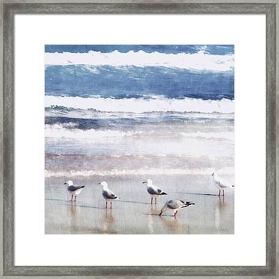 Seaspray Framed Print by Holly Kempe