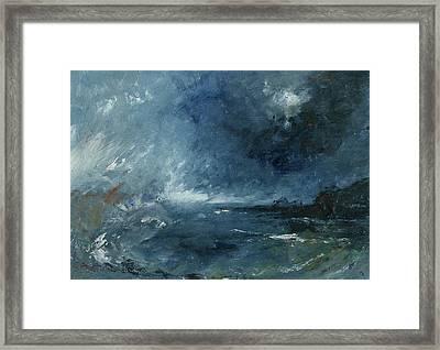 Seastorm Framed Print