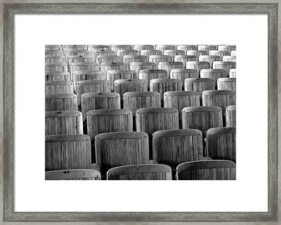 Seat Backs Framed Print