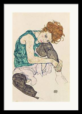 Schiele Framed Prints