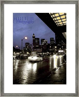 Seattle 5th And Jackson Framed Print