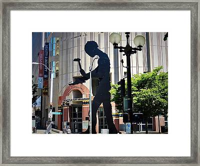 Seattle Art Framed Print