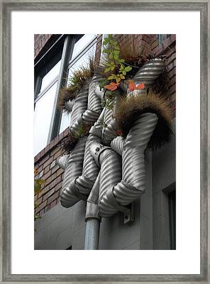 Seattle Drainage Framed Print by Samantha Kimble