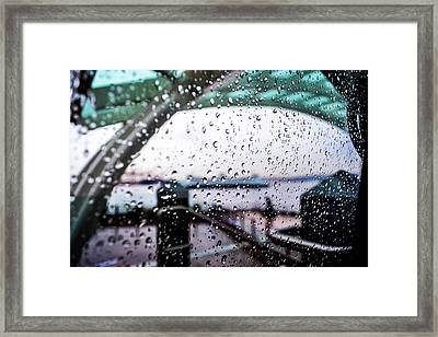 Seattle Drippin Framed Print