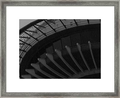 Seattle Landmark Framed Print