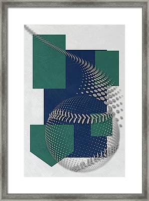 Seattle Mariners Art Framed Print