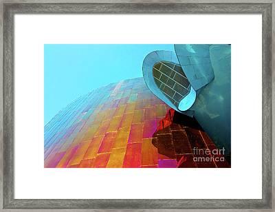Seattle Museum Framed Print by Joan McCool