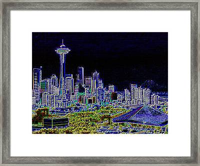 Seattle Quintessence Framed Print by Tim Allen