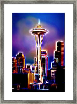 Seattle Space Needle 1 Framed Print