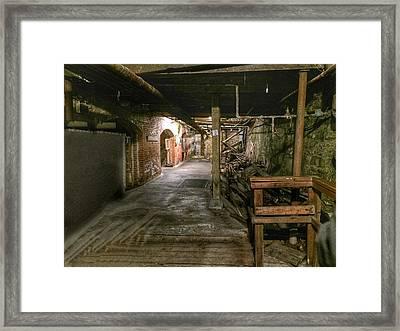 Seattle Underground Framed Print