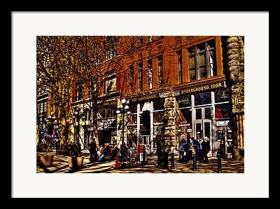 Seattle Taverns Framed Prints