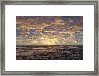 Framed Print featuring the photograph Seaview by Mark Greenberg