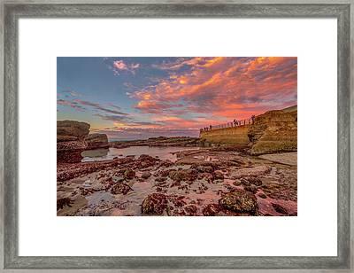 Seawall II Framed Print