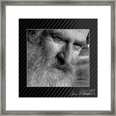 Seaward Bound Framed Print
