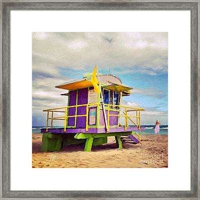 Seawatch Framed Print
