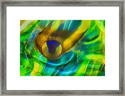 Seaweed Creature Framed Print