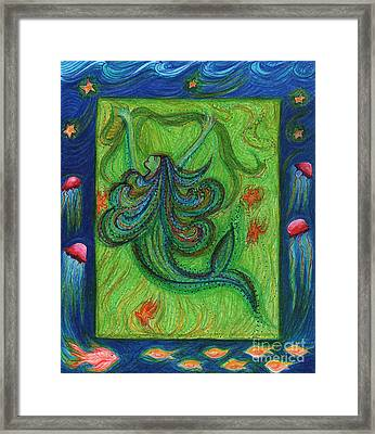 Seaweed Streamers By Jrr Framed Print by First Star Art
