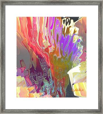 Seaweeds Framed Print by Alika Kumar