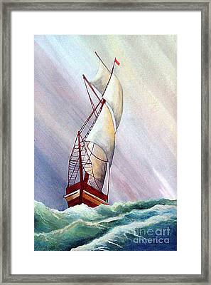 Seawinds Framed Print by Corey Ford