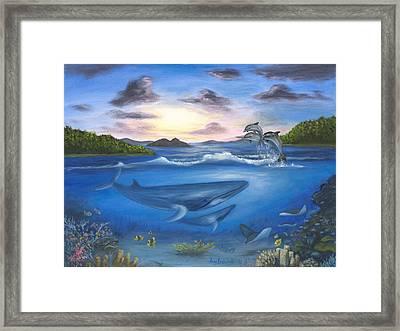 Seaworld Framed Print
