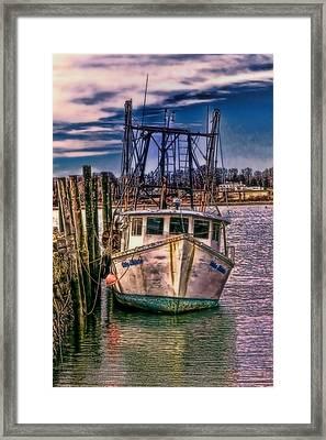 Seaworthy II Bristol Rhode Island Framed Print