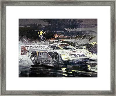 Sebring 12 Hour Framed Print by Don Getz