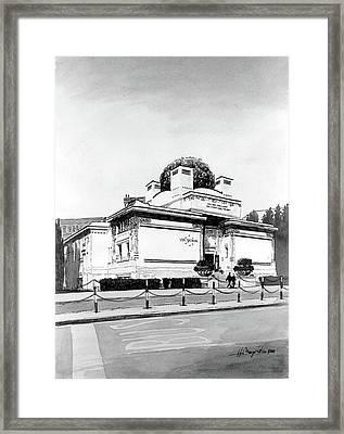 Secession Framed Print