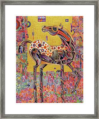 Secessionist Horse Framed Print