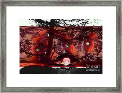 Sechelt Sunset 5 Framed Print