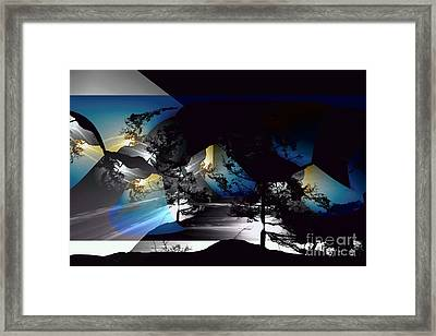 Sechelt Tree 11 Framed Print
