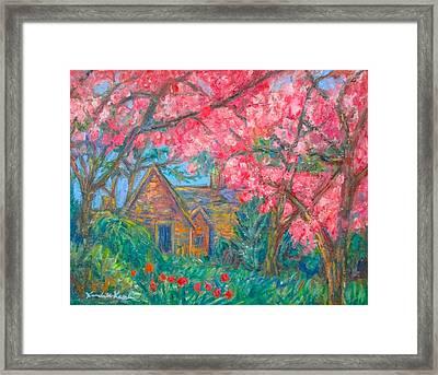 Secluded Home Framed Print