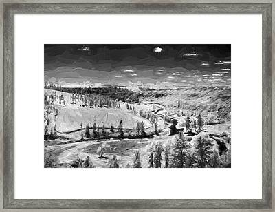 Secluded Valley II Framed Print