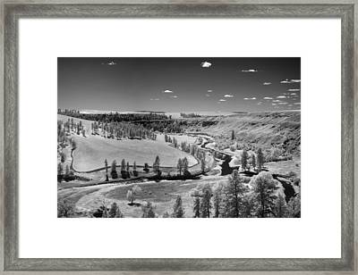 Secluded Valley Framed Print