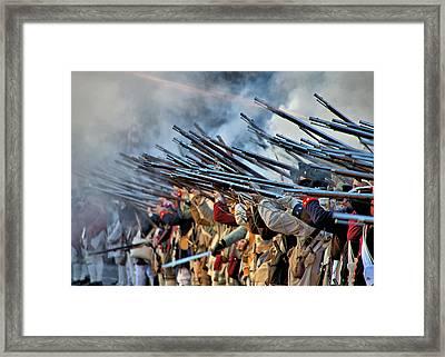 Second Battle Of Trenton Framed Print