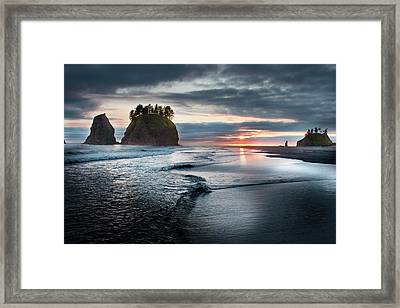 Second Beach #1 Framed Print