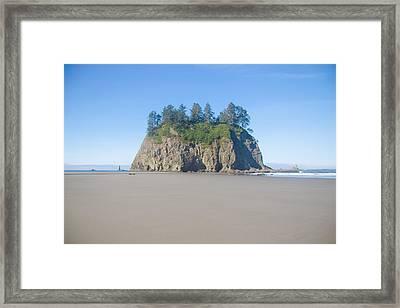 Second Beach La Push Framed Print by Ralf Kaiser