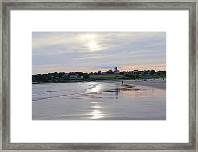 Second Beach Newport Ri Framed Print