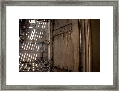 Second Floor Framed Print