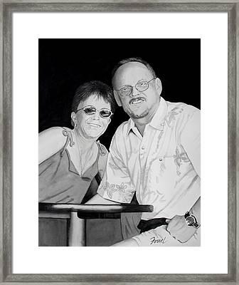 Second Honeymoon Framed Print by Ferrel Cordle