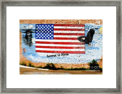 Second To None Framed Print by Scott Pellegrin