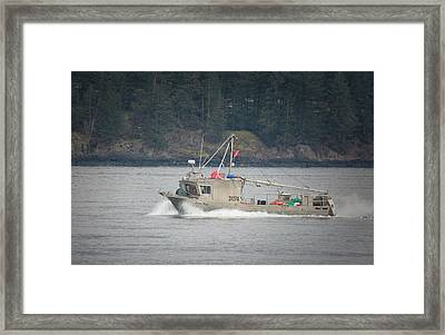 Framed Print featuring the photograph Second Wind by Randy Hall