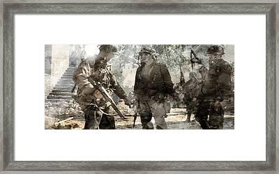 Second World War 104 Framed Print by Jani Heinonen