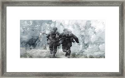 Second World War 49 Framed Print by Jani Heinonen