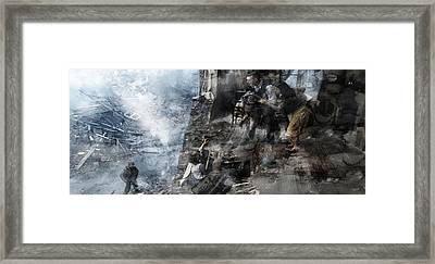 Second World War 76 Framed Print by Jani Heinonen