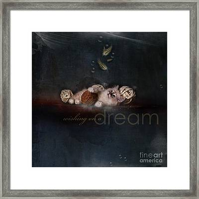 Secrecy ... Just Plain And Rough Framed Print by Monique Hierck