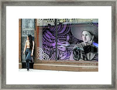 Framed Print featuring the photograph Secret Admirer by Joe Jake Pratt