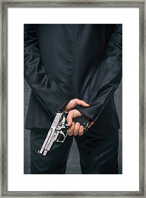 Secret Agent 4 Framed Print