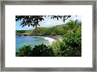Secret Beach Framed Print